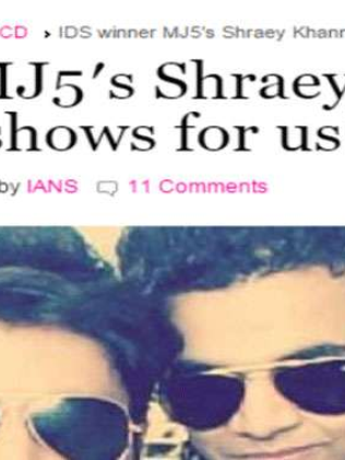 IDS winner MJ5′s Shraey Khanna: No more reality shows for us!