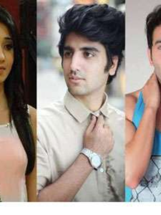 Vrushika, Shraey and Amaad in Pyaar Tune Kya Kiya